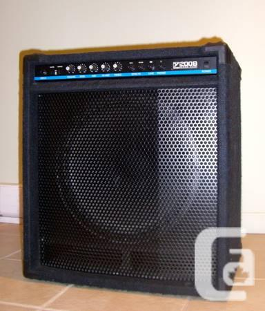 Yorkville 200 Watt Bass Amp - $225