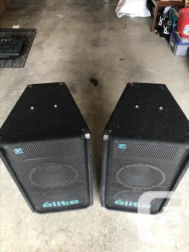 Yorkville Elite EX601 Passive Speakers in Victoria, British Columbia for  sale