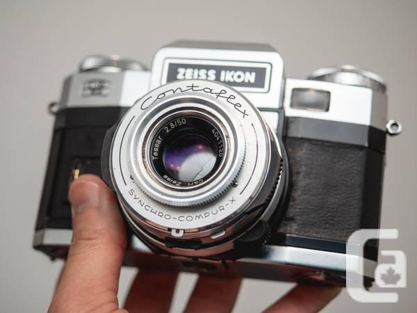 Zeiss Ikon Contaflex Super BC + 3 Lenses - $150 in Toronto, Ontario for sale