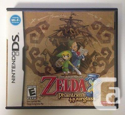 Zelda The Phantom Hour-Glass for DS Finish requesting