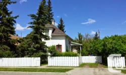 A two storey, 2 bed room century residence for lease near midtown Okotoks. Huge treed lawn provides personal privacy. Covered veranda for all-season bbqs. Refrigerator, stove, dishwasher as well as piled washer / dryer. Utilities added. Canines