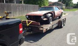 I have a 1968 Chevy Camaro that is 90 % all there as for components go. Car is found in CALIFORNIA !! Just one registered proprietor. All the parts are the initial, as I bought the vehicle from the ORIGINAL Proprietor in Kansas. We could go over every vin