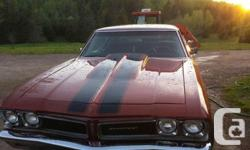 1968 Pontiac Beaumont Canadian-built car. New electric motor,, transmission, all drive train, updated brakes to disc, brand-new posi track back side. Small block 400HP 3 speed turbo. Means too many brand-new parts to state. Runs like a new automobile. NO