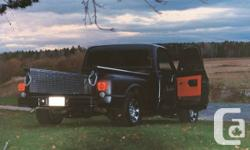 Runs good, went through every little thing bumper to bumper, painted matte black. Reduced back side. Quite nice everyday driver.   New Components:. -Follower belts. -Battery. -Heating unit Hose pipes. -All Fluids. -Chrome 350 Emblems. -Chrome Outdoors