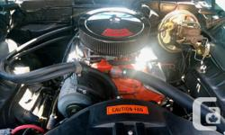Make Chevrolet Model Camaro Year 1969 Colour Blue kms 12345 1969 Camaro, Badged as SS, 350 with turbo 350 trans, 12 bolt rear, everything stock, vinyl roof, front disk brakes, tilt steering, console with gauges, was insured with collector plates looks and