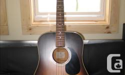 """For sale is my K. Yairi acoustic guitar Model AR321S handcrafted in 1984 in Japan. Interior paper label signed """"K. Yairi."""" All original and clean. Guitar sounds bright and clear. Intonation up the neck is spot on. Solid spruce top; mahogany back and"""