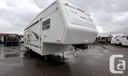 1999 JAYCO DESIGNER 3030 Fifth Wheel $12,990.00 --------------------------------- Stock#14143U Options: 1 Slide, Manual Awning, Leveling Jacks, Ducted A/c, Furnace, 10g Hwt Gas/electric, Heated Tanks, Thermo Windows, Skylite, Monitor Panel, Solar Panel,