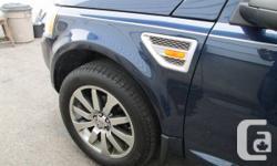Super Land Rover LR2 HSE 2008 93000km   / Ext. bleu Int. noir, En très bonne condition / cuir / toit panoramique, 4 pneus over size Michelin neufs / 4 pneus d'hiver, bon pour une autre saison. Attache remorque + ajustement qui freine la roulotte, groupe