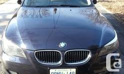 Blue on beige - very sharp, very clean car - no accidents - aggressively priced to move fast as seller moving out of town. Well maintained by BMW Canada for most of car's life.   Beautifully detailed. All wheel drive for great winter driving - no snow