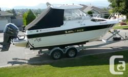 Here's a Great Fishing Machine with amenities the whole family will love. Campion 682 Explorer is a Great Sport Utility Boat, Features of a cruiser and the versatility of a Fishing Machine. Its equipped with a 2010 Yamaha 250 hp with aproxx. 192 hours on