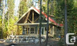 Custom Built This brand new custom build built by reputable local builder, located in the quiet Slocan Valley just off Hwy 6 on 1.01 acres creek side where nature clearly takes the upper hand. 3 bedroom 2 bath with Hardwood floors through out main