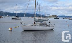Albin Vega 27 in very good shape. Dry and clean. Mitsubishi mini 17 diesel. Roller furling, double reefed main - rigged properly. All lines run to cockpit. Wallis stove top / heater. GPS, Vhf etc. Mast step fully supported (Known issue with Vegas). This