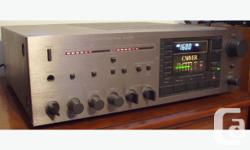 Classic Carver MXR-150 Receiver delivers a clean 150 watts per channel thanks to Bob Carver's instantaneous Magnetic Field Power Amplifier Technology.Works perfectly and delivers clear detailed audiophile quality sound without any hesitation.Made in