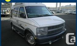 1998 Chevrolet Astro Starcraft Spacious and Beautiful Mid-size Limo/ Camper Van. LUXURY + COMFORT = STARCRAFT!  COMES WITH AN ODOMETER CERTIFICATE ICBC CERTIFIED MECHANICAL INSPECTION PROFESSIONAL INTERIOR AND EXTERIOR DETAILING 90 DAY LIMITED POWERTRAIN