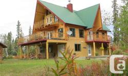 Home Type: Single Family. Building Type: Home. Land Dimension: 5 a/c. Integrateded: 2000.  Beautiful 3 floor customized log home on personal acreage with incredible 360 level hill sights. Boasting 3,585 sq ft with 3 rooms up all with personal decks,