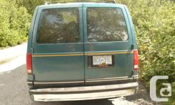 Make GMC Model Safari Year 1993 Colour dark green kms 220000 Trans Automatic Hey there! We are looking to sell our trusted GMC Safari, which has been a great home for us for the last two months! The van can either sit 5 people, or the back of the van can