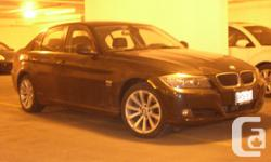 Lease Takeover 2011 BMW 328i xDrive Sedan Executive Edition PK73 Fully loaded with navigation, sunroof, leather, black on black with burl walnut wood trim. Only 26,100km. Mint condition. Kept in an underground parking downtown Toronto. None smoker. The