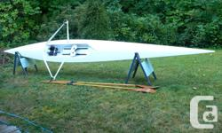 Selliing my Maas Aero open water rowing shell. Comes with a set of blades (oars). . Very nice to row. For more info please email or call Hugh at . No text messages please. For more information on the Aero go to: