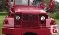 Make. AM General. Year. 1970. Colour. Red. kms. 6000. Put a rake on this truck and you'll have an actual snow mover or take her to the woods to carry out where your 2 or four wheel drive just cannot go. Has PTO. You'll also possess a piece of record. This