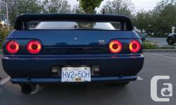 Make Nissan Model Skyline Year 1992 Colour Blue Trans Manual Up for sale is a 1992 R32 GTR In immaculate exterior and interior condition. I just bought the car from a extremely talented body man who stripped the car down to bare metal and fixed every