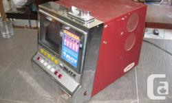 Selling my vintage Blitz Mega Double poker machine. It's in excellent condition. You can double up to 16 times, sometimes with uncovered cards.  $500.  I go to Montréal on a regular basis. I can deliver if interested. Call me...