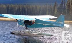 Home Built Advanced Ultralight On Fullotis Floats. Comes with wheels,wrap drive prop with nickel leading edge,3blade. Duel fuel tanks, heating system, 228 hrs T/T..582 Rotex with fuel mixturecontrol. Always hangered.Lots of spare float parts.