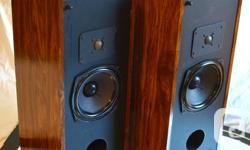 FUNCTION AND APPEAR AS GREAT AS NEW ONE HUNDRED % ORIGINAL COMPONENTS MOTORISTS As Well As X-OVER CAPACITORS TOTALLY TESTED FOR EFFICIENCY As Well As NOISE QUALITY FRESH LACQUER FINISH FOR SPECIAL APPEARANCES The Rega line of speakers was designed in