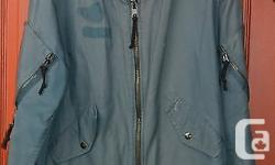 One USED Canadian air force flying jacket intermediate. Made in cotton, nylon and acrylic. You will get the 1 pictured. Store #F2 Size : 7040 ( People with chest max 40 ins and Height max 70ins ) Genuine military item. All zippers fonction. Have some