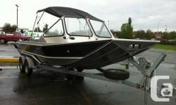 The Wooldridge AK XL is a dream come true for the boaters looking for the ultimate in handling, load hauling and fuel efficiency in an outboard jet boat. Wooldridge Boats created the Alaskan XL for those who wanted a bigger outboard jet boat patterned