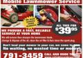 Mower Repair $39.95 - We Arrived At You