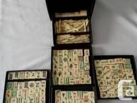 Vintage Mah Jong.  Made in China in the 1920. Vintage