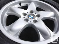 OEM BMW X5 SUV FIRESTONE DESTINATION SERIES Rims and