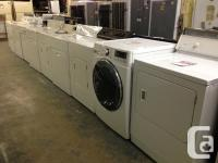 "Fully Reconditioned Appliances with "" IN HOME"""