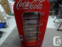 I am selling a Coca Soda Coke Mini Refrigerator Dorm