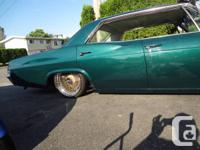 "1965 impala  V8  283 hydraulic alarm 18"" wire wheel for sale  British Columbia"