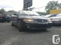 1997 Chrysler Sebring Jxi Convertible.  # Annee / #