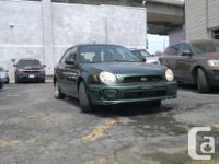 2002 Subaru Impreza Wagon 2.5.  # Annee / # Year: