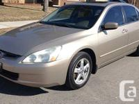2003 HONDA ACCORD EX-L TOP OF THE LINE FULLY LOADED --