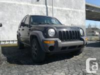 2003 Jeep Liberty 4X4 # Annee / # Year: 2003  # Couleur