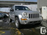 2004 Jeep Liberty Limited 4WD.  # Annee / # Year:
