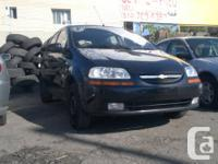 2005 Chevrolet Aveo 5.  # Année / # Year: 2005.  #