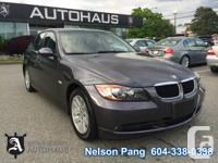 2007 BMW 328Xi Sedan.  Transmission: Automatic. Engine: