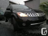 2007 Nissan Murano SL AWD.  # Annee / # Year: 2007.  #