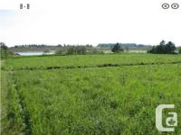 These large waterfront lots provide the several of the