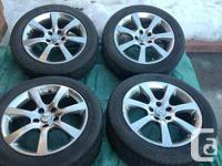 OEM INFINITI G35 SEDAN YOKOHAMA AVID VS4 SERIES Rim and