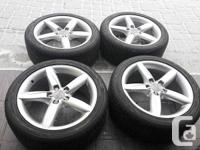 OEM ORIGINAL AUDI Rims and Tires CONTINENTAL ALL