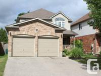 92 Calvin Ct., Cambridge ON.  Well finished and