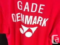 Peter Gade (Denmark) Dri Fit tee shirts On sale now! We