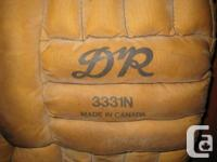 Older pair of DnR pads Brown nylon Leather straps all