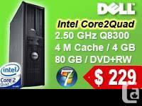 DELL OptiPlex 760 Desktop PC   > Intel® Core 2 Quad